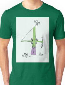 No.4 by tony fernandes Unisex T-Shirt