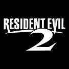 «Resident Evil 2 Logo, Blanco» de 411drpkv4c