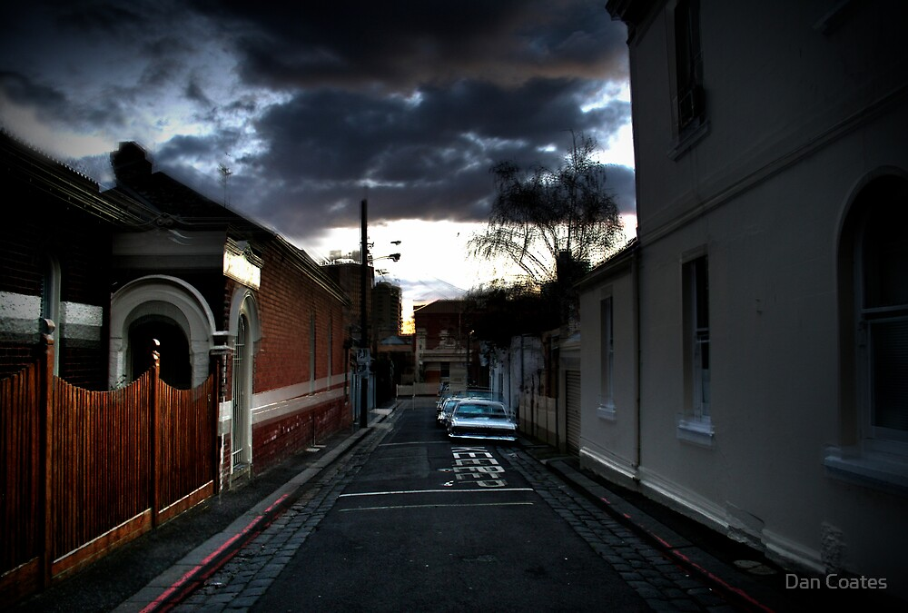 A Laneway in the Evening by Dan Coates