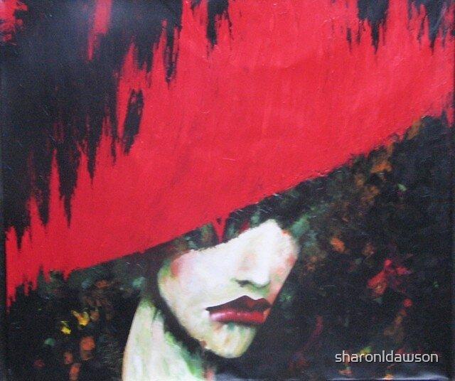 flamin' red  by sharonldawson