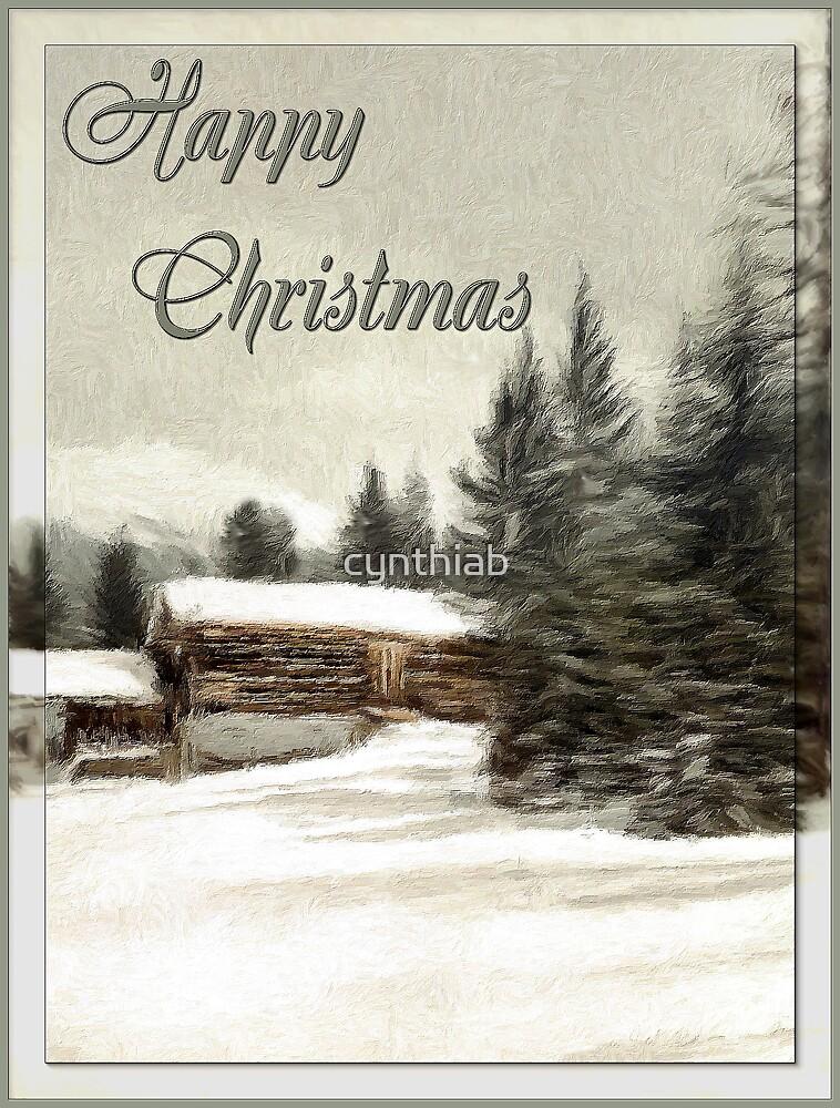 happy christmas by cynthiab