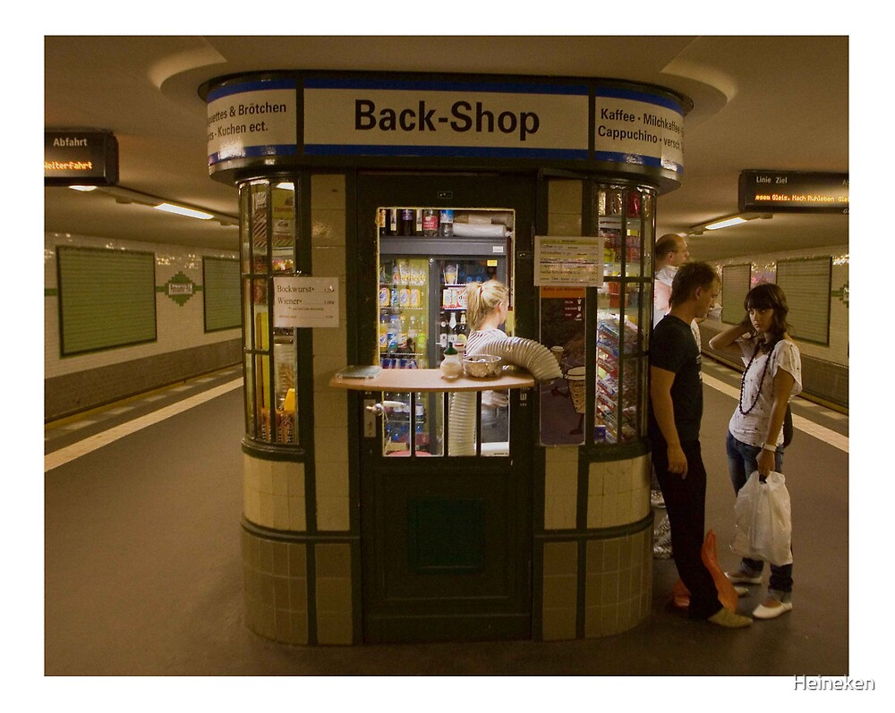 Moment at Back Shop by Heineken