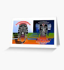 Masai Greeting Card