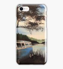Escape Campervan Painting iPhone Case/Skin