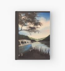 Escape Campervan Painting Hardcover Journal