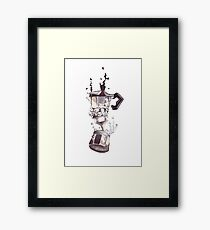 If all else fails, coffee! Framed Print