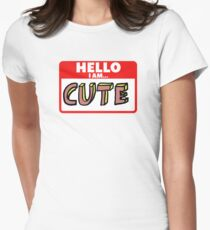Cute Women's Fitted T-Shirt