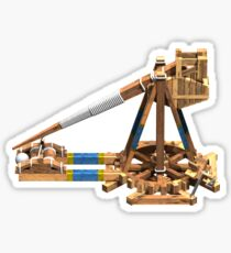 Trebuchet Render Sticker