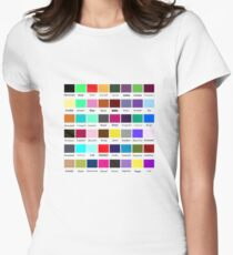 Colour My Emotion Womens Fitted T-Shirt
