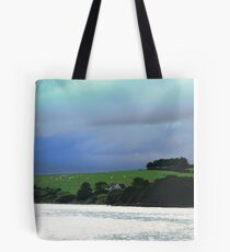 Storm clouds over Donegal, Ireland Tote Bag
