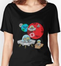 Space Cats Women's Relaxed Fit T-Shirt