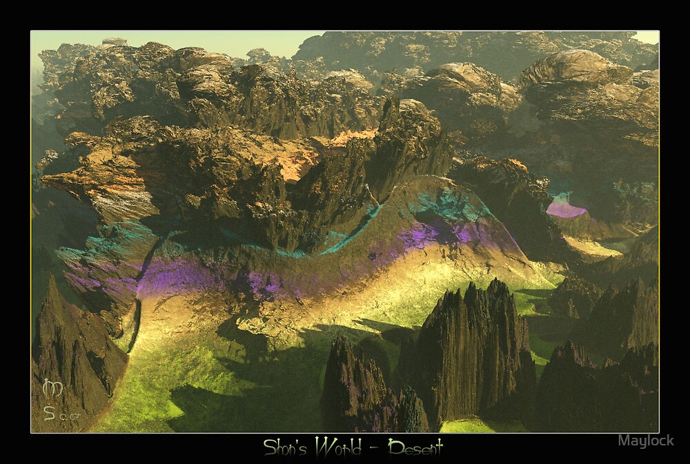 """Shon's World  """"Descent"""" by Maylock"""