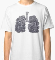 Lungs with peonies Classic T-Shirt