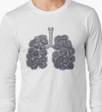 Lungs with peonies T-Shirt