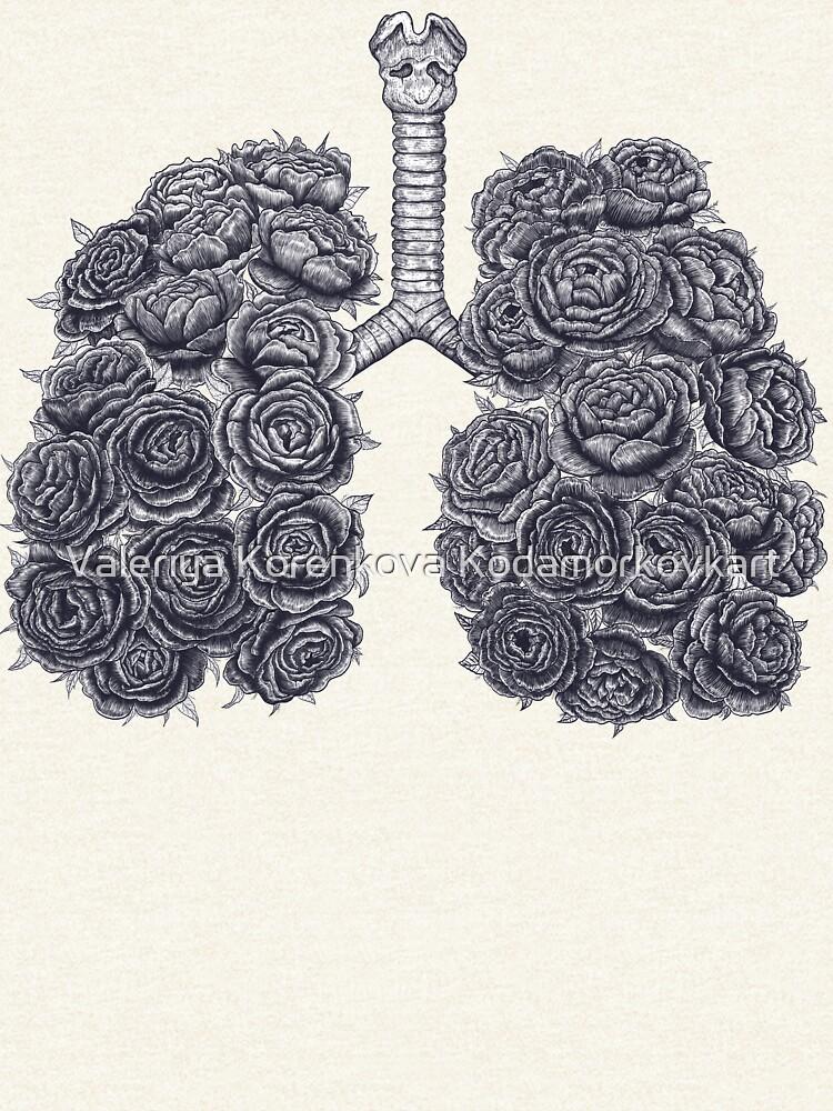 Lungs with peonies de kodamorkovkart