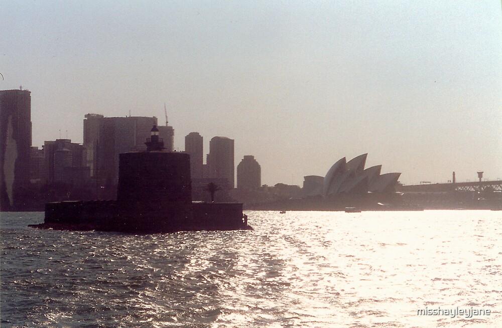 Ship in Sydney Harbour by misshayleyjane