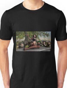 Snowy And The Horny Dwarfs  Unisex T-Shirt