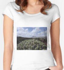 Lanzarote Women's Fitted Scoop T-Shirt