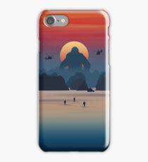 skull island iPhone Case/Skin