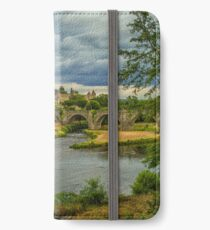 Travel photography of Carcassonne castle, France iPhone Wallet/Case/Skin