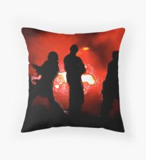 Invaders Throw Pillow