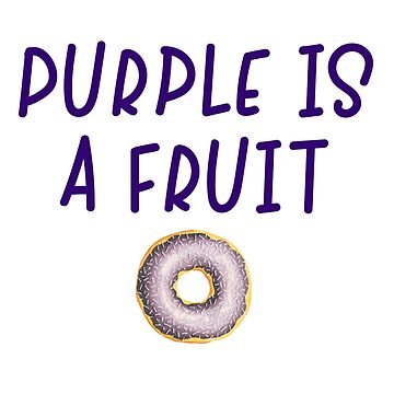 Homer Simpson - Purple is a fruit by doodle189
