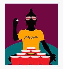 Buddha Pong Photographic Print
