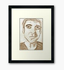 Portrait of George Framed Print