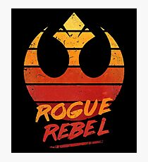 rogue rebel Photographic Print
