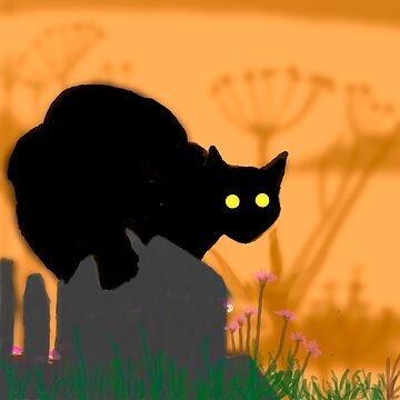 Midnight Cat by puzzler