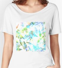 Tropical Leaf ll Women's Relaxed Fit T-Shirt
