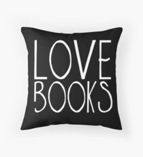 Love books | Throw Pillow