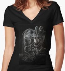 Sparkless - Cover - Issue 1 Women's Fitted V-Neck T-Shirt