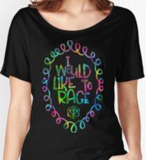 Ich würde gerne rasseln Baggyfit T-Shirt