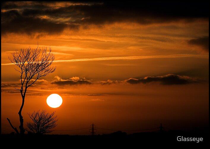 Sundown at Barton Hill by Glasseye