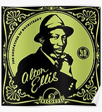 Alton Ellis .. Godfather Of Rocksteady Poster