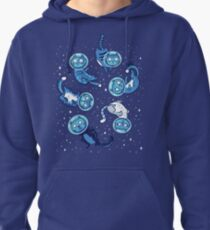 Galaxy cats Pullover Hoodie