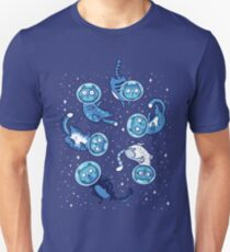 Galaxy cats Unisex T-Shirt