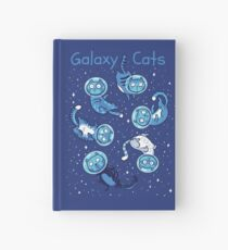 Galaxy cats Hardcover Journal