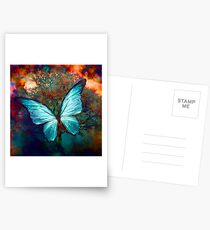 The Blue Butterfly Cartes postales