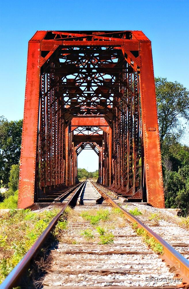 Old Train Bridge by Ed Rodriguez