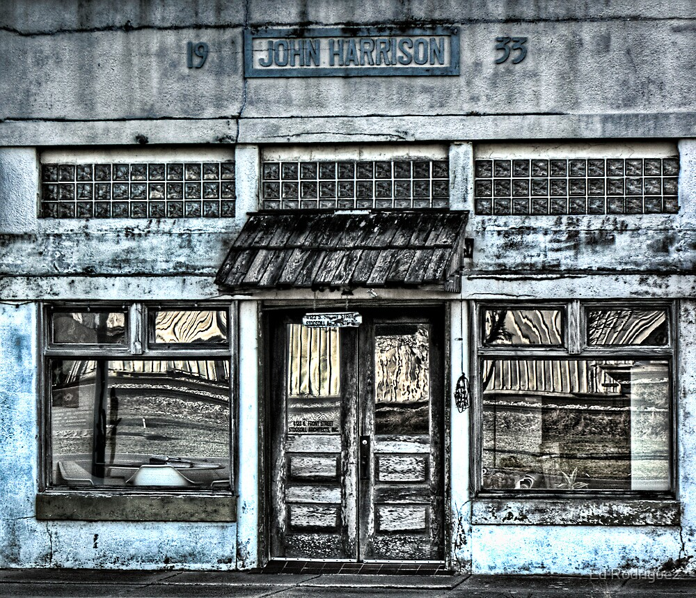 Old Doors by Ed Rodriguez