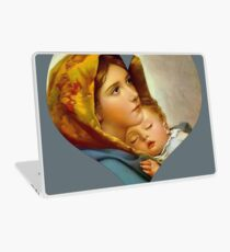 Madonna Geburt Christi Jungfrau Maria und Kind Jesus Mutter Christus Laptop Folie