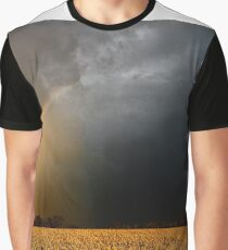 Storm Over Canolla Field  Graphic T-Shirt
