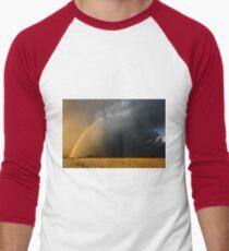 Storm Over Canolla Field  Men's Baseball ¾ T-Shirt
