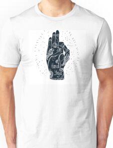 Element yoga mudra hands Unisex T-Shirt