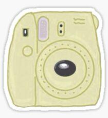 Fujifilm Yellow Sticker