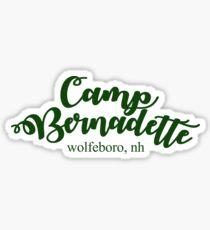 Camp Bernadette Wolfeboro, NH Sticker