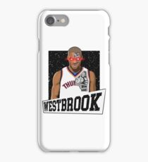 russell westbrook the terminator iPhone Case/Skin