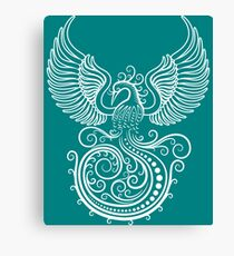 White Phoenix Canvas Print